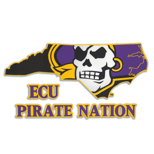 ECU Pirate Nation Decal