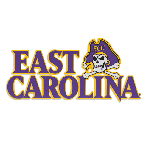 East Carolina & Jolly Roger Color Decal