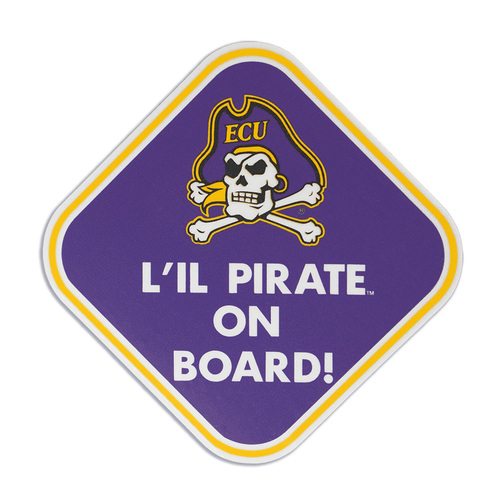 Decal Lil Pirate On Board