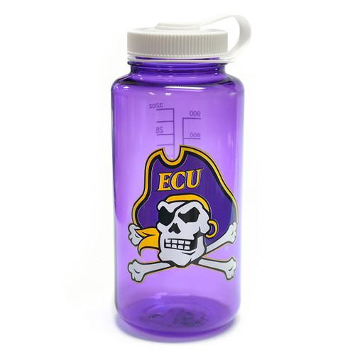 Purple Nalgene Water Bottle Jolly Roger