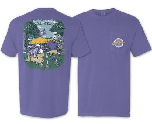 Old Row Purple Last Man Standing Tee