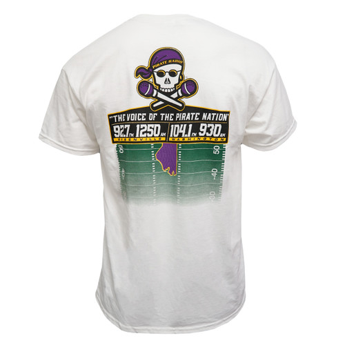 White Pirate Radio Tailgate Team 2019 Tee
