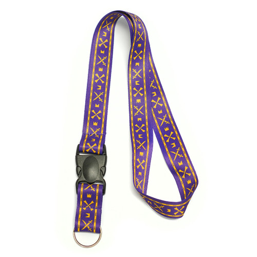 Lanyard ECU Purple Signal Flag