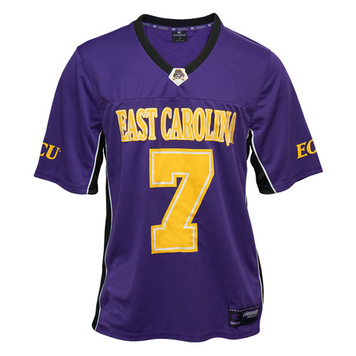 Purple Jersey ECU #7 Black Trim Panels 2019