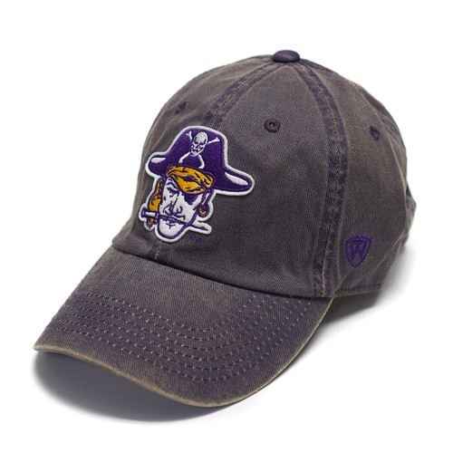 Vault Vintage Purple Pirate Head Adjustable Cap
