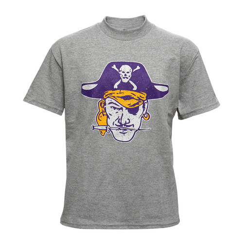 Vault Oxford Youth Pirate Head Vintage Tee