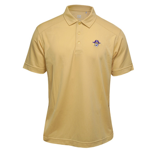Vault Pale Gold Vintage Pirate Head Polo