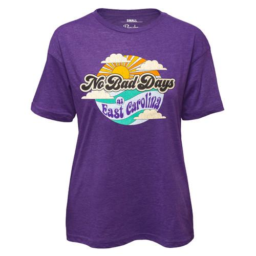 Ladies Purple No Bad Days Tee