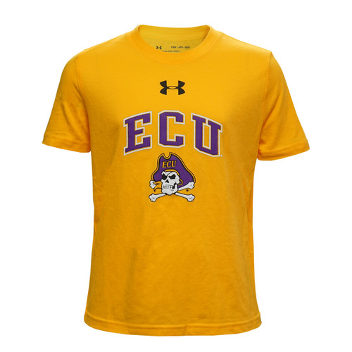 Youth Gold ECU Over Jolly Roger Tee