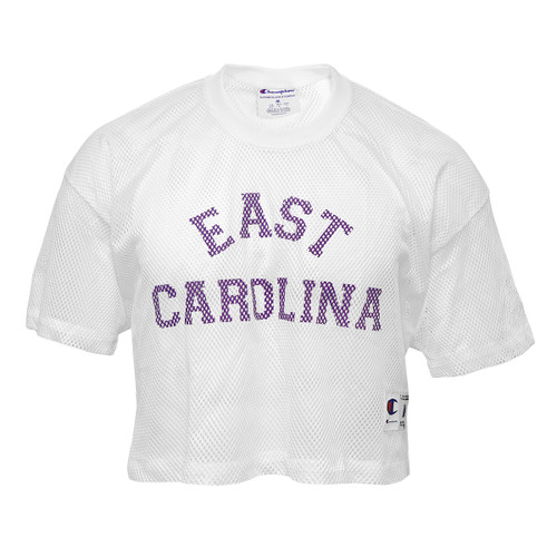 White East Carolina Crop Jersey