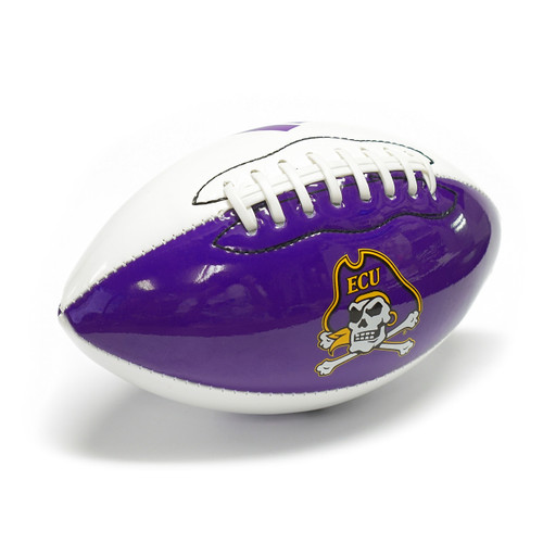 Purple & White Mini Autograph Football