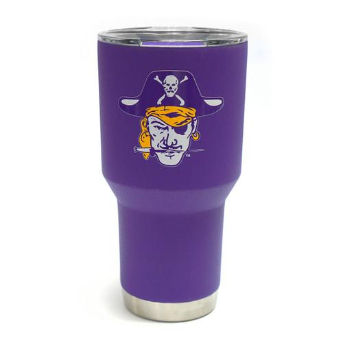 Vault Purple 30oz Vintage Pirate Head Tumbler