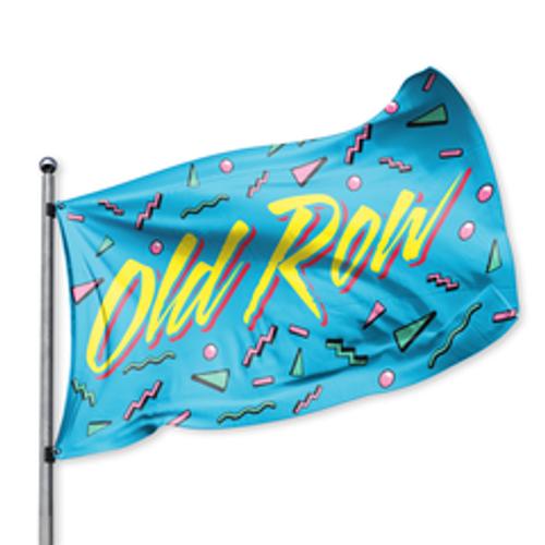 Old Row 90's Retro Flag