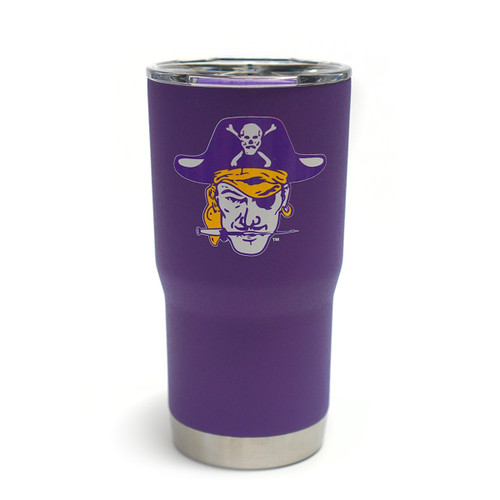 Vault Purple Vintage Pirate Head 20oz Tumbler