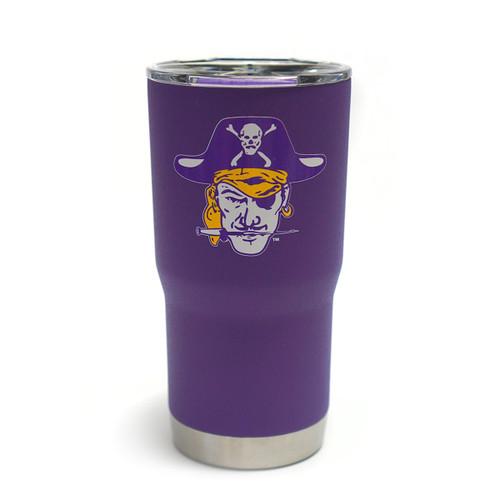Vault Purple Vintage Pirate Head 20oz Tumbler