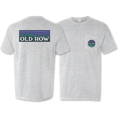 Old Row Waves Pocket Tee