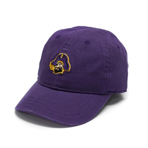 Toddler Purple Cap with Piratehead