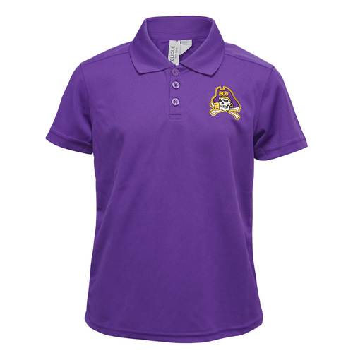 Youth Purple Polo Jolly Roger