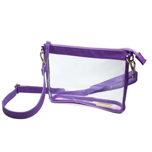 Purple Stadium Approved Crossbody