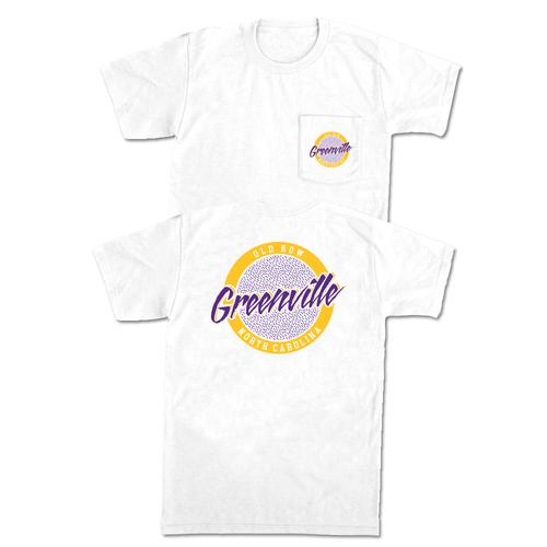 Old Row Greenville Circle Logo Pocket Tee