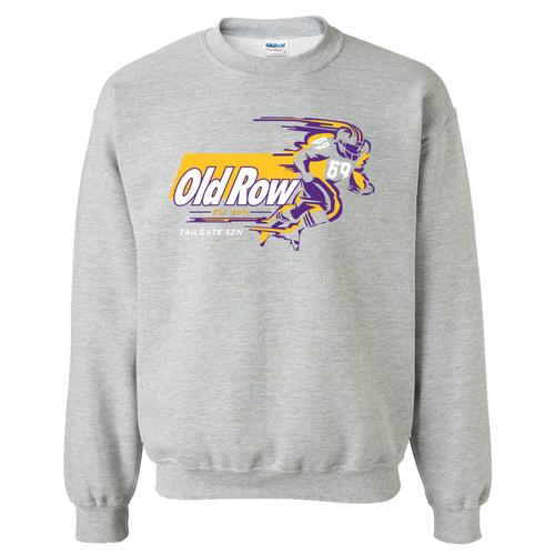 Old Row Tailgate Szn Crew Purple/Yellow