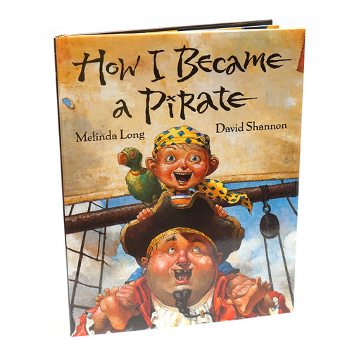 How I Became a Pirate Childrens Book