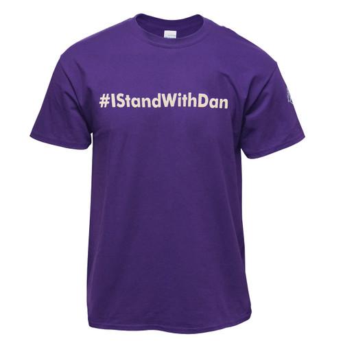 Purple #IStandWithDan Tee