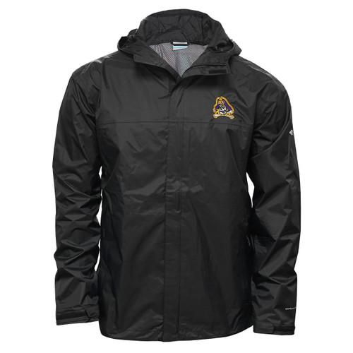 Black Jolly Roger Watertight Jacket