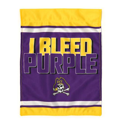 Garden Flag I Bleed Purple