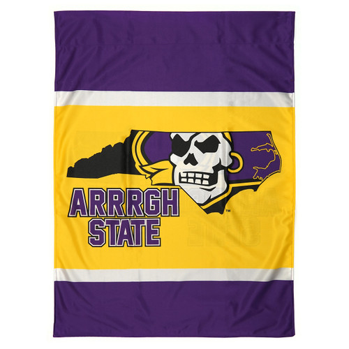 Arrrgh State Pirate State of Mind House Flag