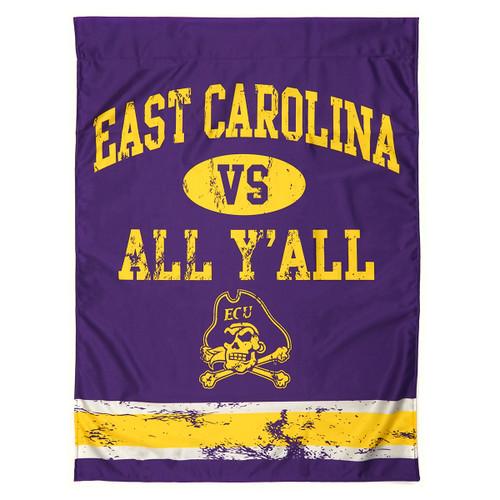 East Carolina vs All Y'all House Flag