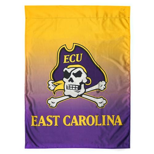 Purple & Gold Ombre East Carolina House Flag