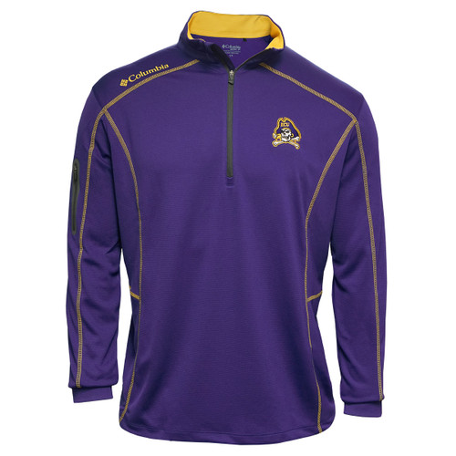Purple Pullover Jolly Roger Yellow Stitch