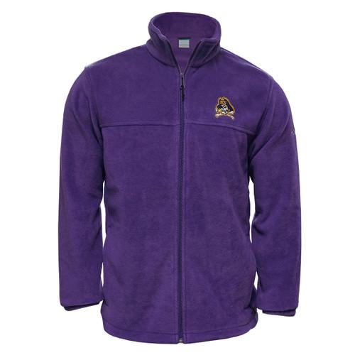 Purple Fleece Jacket Jolly Roger