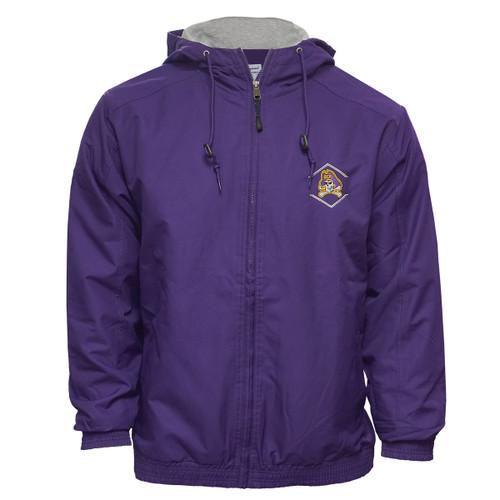 Purple Jacket Jolly Roger Up Down Arrows