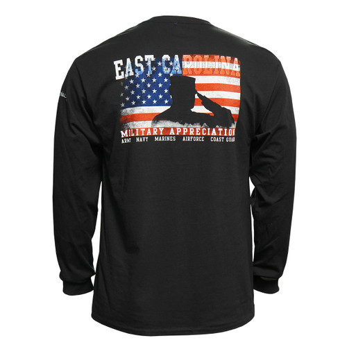 2019 ECU Military Appreciation Long Sleeve Tee
