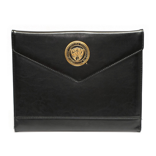 Trifold Black Envelope Padholder