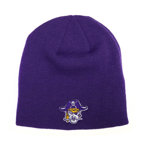 Purple Knit Pirate Head Sabre Vault EC Back