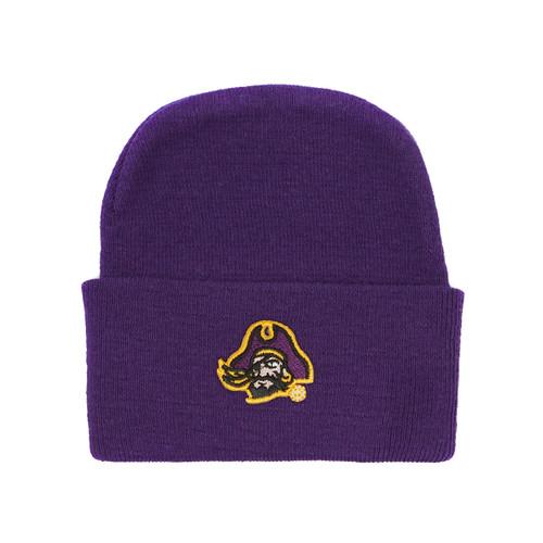 Newborn Cap Purple with Piratehead