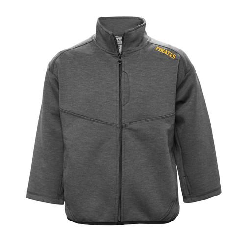 Toddler Grey Jacket with Black Trim