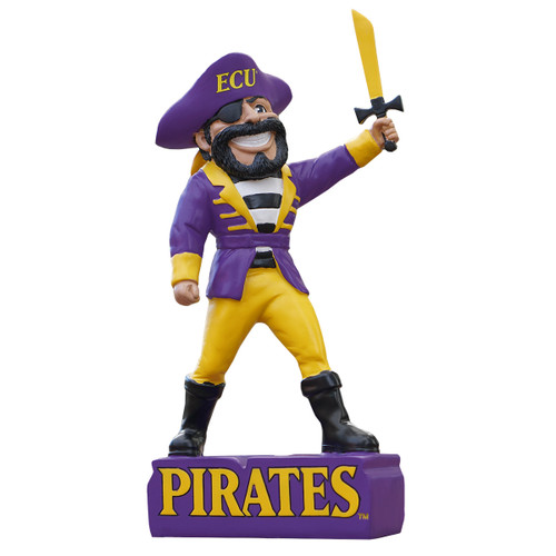 Collectible ECU Pirates Pee Dee & Saber Statue