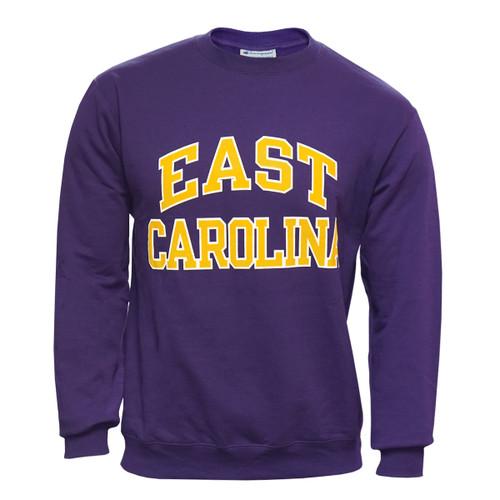 Purple Crew East Carolina Arch