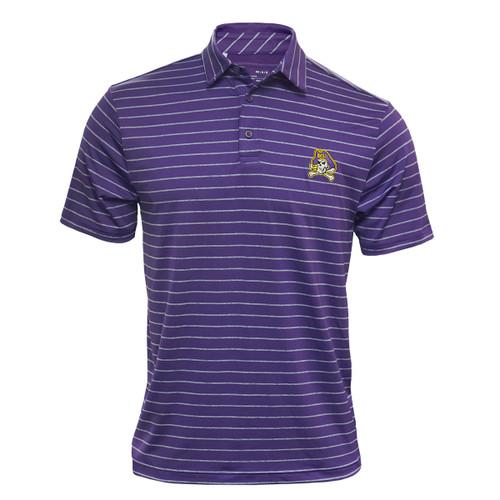 Purple Polo Heather Stripes