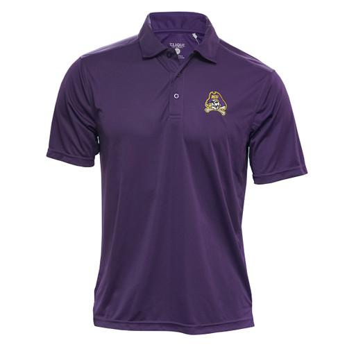 Purple Polo Jolly Roger