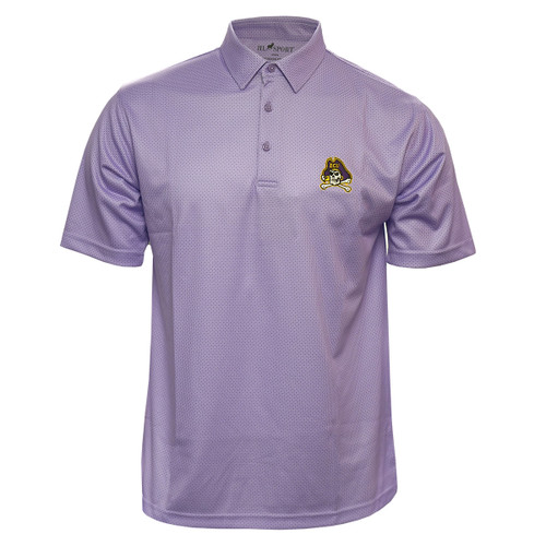 Lavender Check Jolly Roger Polo