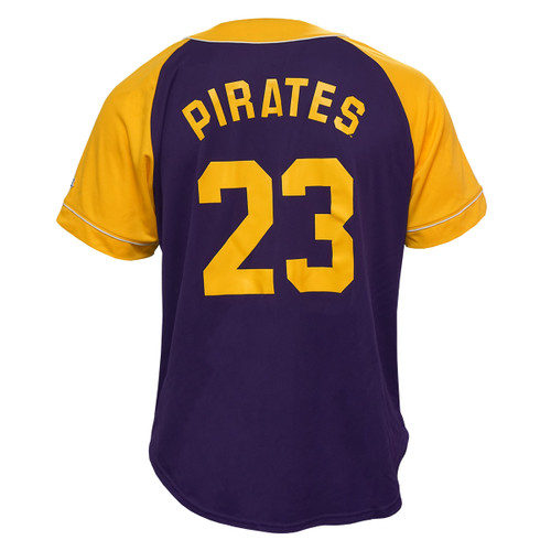 2020 ECU Baseball #23 Purple & Gold Jersey