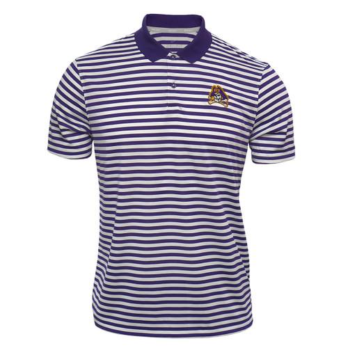 Nike Purple & White Stripe Jolly Roger Polo
