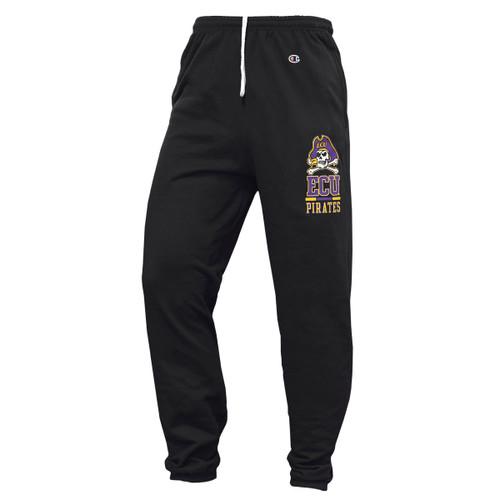 Black Sweatpants Jolly Roger ECU Pirates