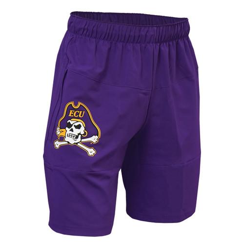 Purple Jolly Roger Shorts