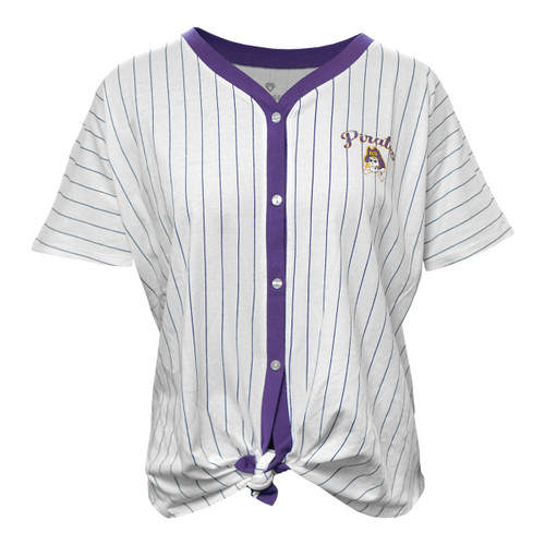 Ladies Relaxed Fit ECU Baseball Jersey